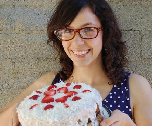 Meg has a cake!